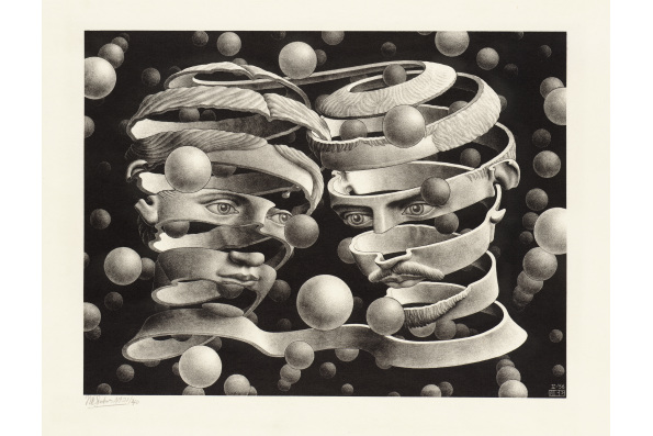 """Band"" by M.C. Escher © The M.C. Escher Company B.V.- Baarn – the Netherlands"