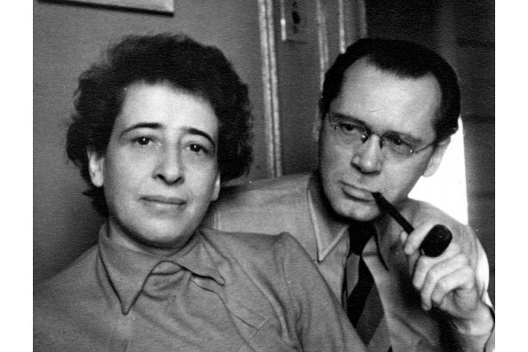 Hannah Arendt and Heinrich Blücher. Courtesy of the Hannah Arendt Private Archive.