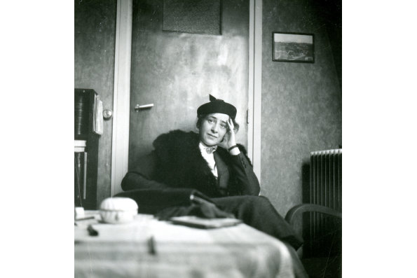 Hannah Arendt. Courtesy of the Hannah Arendt Private Archive.