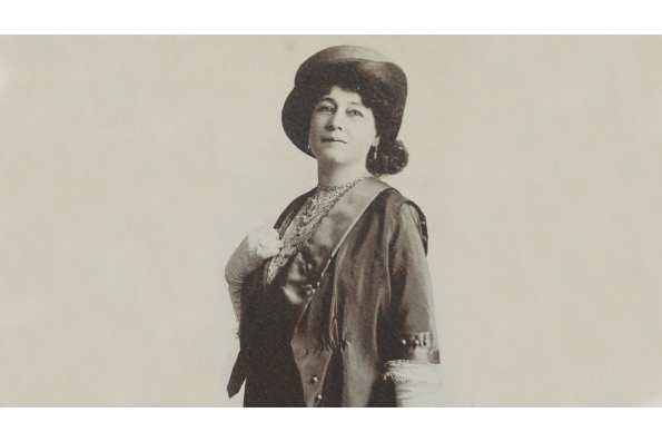 Portrait of Alice Guy-Blaché in 1912. Courtesy of Be Natural Productions.