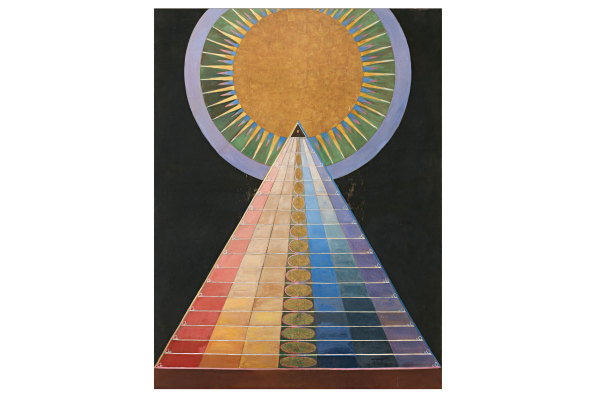 Altarpiece I, a painting by Hilma af Klint.