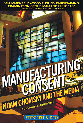 Manufacturing Consent: Noam Chomsky and the Media [DVD]